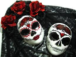 day of the dead masks true ways day of the dead paired masks