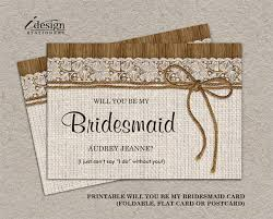 bridesmaids invitation cards 78 invitation card templates free premium templates