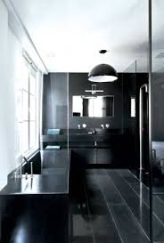 modern white and black masculine bathroom color ideas masculine