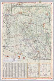 Map Of Arizona Highways by Shell Highway Map Of Arizona David Rumsey Historical Map Collection