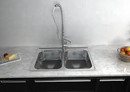 kitchen sink and faucet choosing the right kitchen sink for your home akdy appliances
