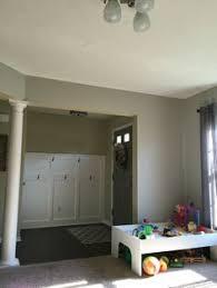 light walls dark floors white trim paint is behr sand fossil my