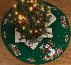 snowman christmas tree skirts christmas wikii