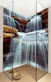 25 best murals images on pinterest mural ideas wallpaper murals waterfall bathroom tiles use any photo you want to make custom wall tiles