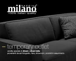 autlet divani temporary outlet bedding皰 presso cesana arredamenti