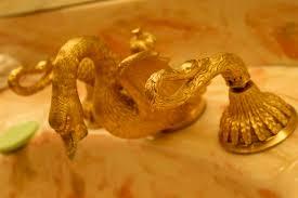 Swan Faucet Gold Inside Las Vegas Casino Legend Jackie Gaughan U0027s Penthouse