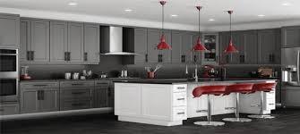 Stylish Kitchen Cabinets Rta Grey Shaker Stylish Kitchen Cabinets