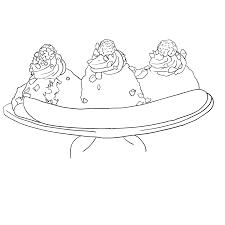 holiday coloring pages banana coloring page free printable