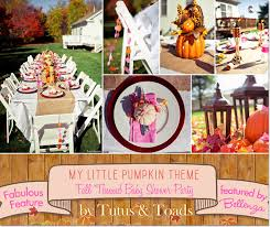 tutu themed baby shower my pumpkin feature a fall themed baby shower
