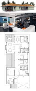 narrow house floor plans best 25 narrow house plans ideas on small open floor