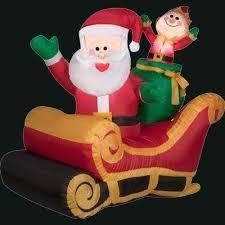 classic christmas christmas inflatables outdoor christmas