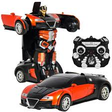 best choice products kids toy transformer rc robot car remote