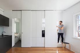 sliding kitchen doors interior installing sliding cabinet door track door design