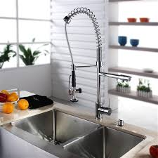 kraus kitchen faucets kraus 33 inch farmhouse bowl stainless steel kitchen sink