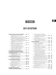 daihatsu terios efi system throttle fuel injection