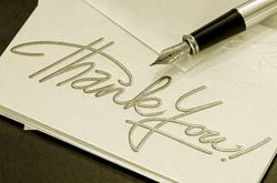 thank you note service that s gratitude personalized