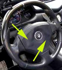 maserati steering wheel steering wheel material bubbles up maserati forum