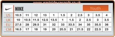 nike si e nike shoes youth size chart eastside records co uk