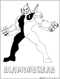 dessin ben 10 26 coloring pages printable