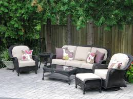 Patio Chairs With Cushions Exterior Enchanting Patio Design With Comfortable Hampton Bay
