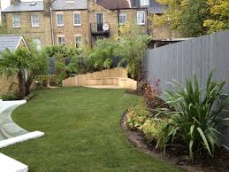 low maintenance garden design with split level tim mackley ideas