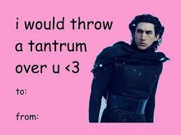 Star Wars Day Meme - love best valentine meme cards also valentines card meme star wars