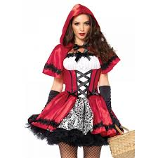 lady halloween costumes gothic red riding hood womens halloween costume
