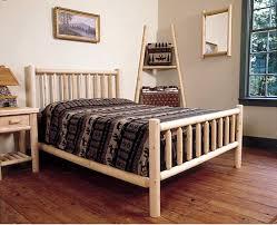 innovation adirondack bed frame rustic bedroom furniture log beds