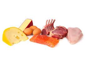 alimentazione ricca di proteine alimenti ricchi di proteine immagine stock immagine di rosso