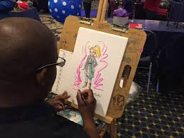 book a fashion sketch artist for your dc md va event carbone