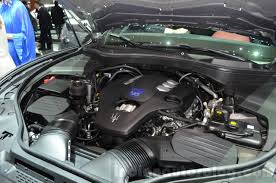 maserati suv maserati levante engine bay at the 2016 geneva motor show live