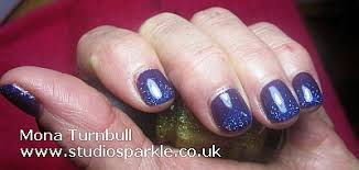studio sparkle shellac nails design oxford manicure pedicure minx