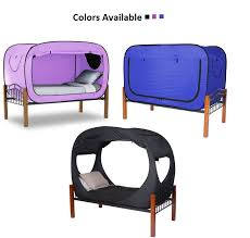 the privacy bed tent newest invention for a good night s sleep privacy pop bed tent