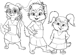 halloween coloring pictures coloring pages kids alvin the chipmunks halloween coloring pages