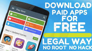 free apps for android how to paid apps for free on android