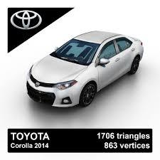 toyota 2014 toyota corolla sedan 3ds