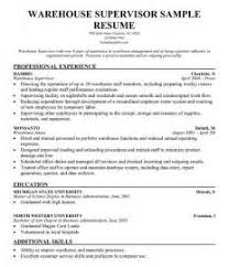 Warehouse Manager Resume Examples by Ideas Of Logistics Supervisor Resume Samples About Download Resume