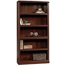 Cherry Wood Bookcase With Doors Wooden Bookshelves Wide 72 Bookcase Library
