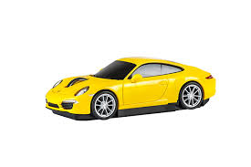 yellow porsche 911 amazon com automouse porsche 911 carrera s car wireless laser