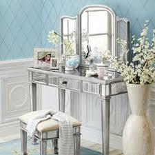Glass Vanity Table With Mirror Mirror Design Ideas Hayworth Silver Vanity Table Mirror