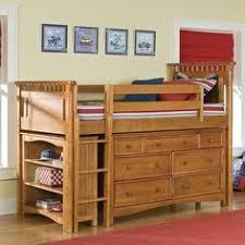 Timber Kids Loft Bunk Beds With Desk Closet Gautier Gami - Simply bunk beds