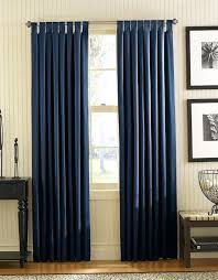 Navy And White Striped Curtains Blue And White Bedroom Curtains Asio Club