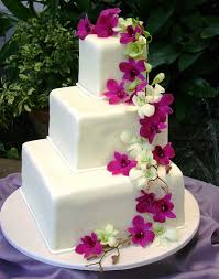 Square Wedding Cakes Wedding Cakes A Gallery On Flickr