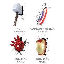 captain america shield light target light thor hammer wall light click to zoom target thor hammer wall