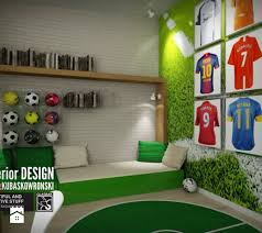 Youth Football Bedroom Soccer Credit To Cooper Bespoke Joinery Ltd Rooms
