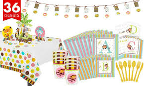 baby shower kits fisher price abc baby shower party supplies party city