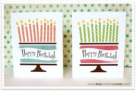 lisa u0027s creative corner artfully sent birthday cards with link to