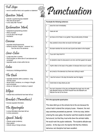 punctuation worksheet by smudge78 teaching resources tes