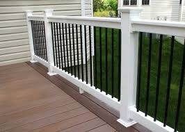 how to build a porch railing with wooden material home interior