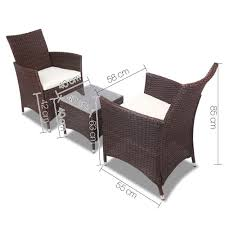 outside chair and table set 3 piece outdoor chair and table set brown outdoor furniture and